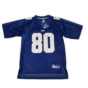 NWT Jeremy Shockey New York Giants Jersey Medium Reebok Baggy Blue