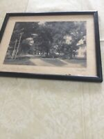 "CHARLES SAWYER  Photo ""An Old Village Street"" Signed  Black And White"