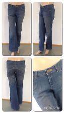 MNG Mango Jeans Hose Blau Straight Cut  Size 40 Baumwolle 1A Zustand