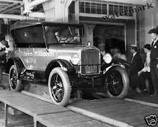 Photograph of Henry Ford 15th Millionth Car in Detroit Year 1927 8x10