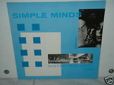 """*****SIMPLE MINDS""""SISTER FEELINGS CALL""""-12""""Inch LP*****"""