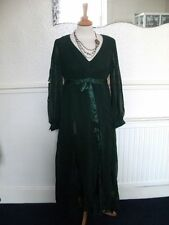 Vintage 70's Maxi Fancy Dress Ship wrecked Zombie ripped costume cosplay authent