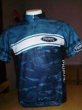 AWESOME PRIMAL WEAR DEEP SIX CYCLING JERSEY mens XL made in USA MINT