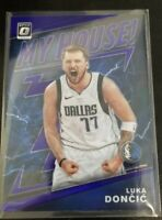 2019-20 Optic Luka Doncic Basketball Card #1 Dallas Mavericks (Prizm Purple)