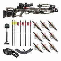 TenPoint Titan M1 370 FPS Crossbow Kit with Arrows and Broadheads