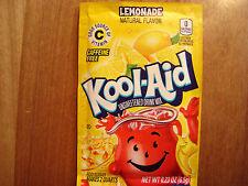 30 LEMONADE Kool Aid Drink Mix popsicle flavor Vitamin C summer party dye fun