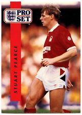 Stuart Pearce Nottingham Forest #168 Pro Set Football 1990-1 Trade Card (C363)