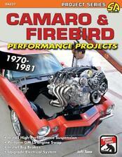 Camaro & Firebird Performance Projects: 1970-81 Book ~ Pro Touring ~ BRAND NEW!