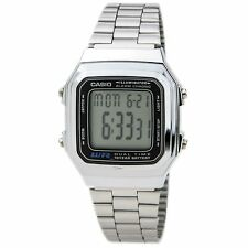 Casio A178WA-1A Unisex Chrono Digital Dial Alarm Dual Time Watch