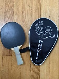 TOURNAMENT TABLE TENNIS PADDLE   RACKET With Carry Case