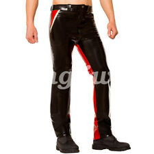 Latex Pants Rubber Men Casual tight pants Handsome Trousers 0.4mm Size S-XXL