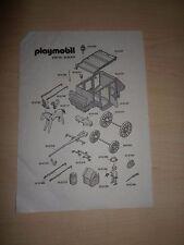 Playmobil® Bauanleitung / Manual Instruction Kutsche 30 80 437