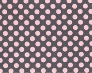 Halloween Polka Dots Dotted Cotton Quilting Fabric Material orange Black Purple Lavender