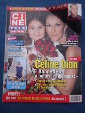+CINE TELE REVUE 19/08 CELINE DION BARZOTTI  CAREY