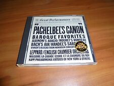 Pachelbel's Canon: Baroque Favorites (CD, May-1986, CBS Records) Used