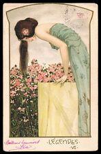 Raphaël Kirchner • Legendes VI • Dell'Aquila E.6.6 1903