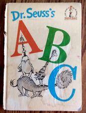 Dr. Seuss's ABC 1963 ~FIRST EDITION~ Beginner Book