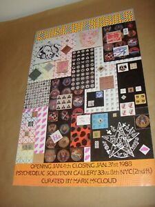 Cure of Souls LSD Blotter Art Show Poster Mark McCloud Psychedelic Acid