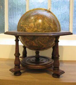 An old Coronelli Celestial Globe, 20cm/8 inches diameter circa 1900