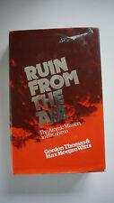 Gordon Thomas & Max Morgan Witts - Ruin from the Air - Hardcover