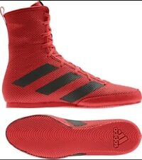 adidas Mens Box Hog 3 Special Boxing Shoes Red Sports Lightweight Trainers