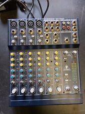 Behringer eurorack mx802a, mesa de mezclas, mezclador #735