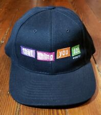 RARE VINTAGE 1996 THAT THING YOU DO CAST & CREW HAT - TOM HANKS MOVIE PROMO BAND