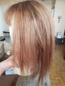 Uniwigs Remi Human Hair Topper for thinning hair