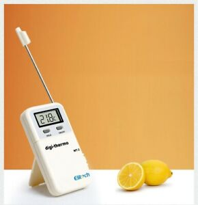 Thermometer Elitech WT-2 Digital LCD High Temperature Probe Food Cooking