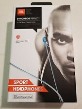 JBL Synchros Reflect In Ear Sport Headphones for iPod iPhone iPad, Sweat-Proof