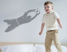 Soccer Goal Keeper - highest quality wall decal stickers