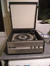 Vintage portable Philips record player