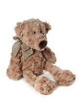 32 Cm Traditional Brown Plush Teddy Bear Soft Toy Suitable From Birth