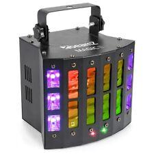 """BeamZ """"Magic2"""" 9x 3 W LED DMX Lichteffekt Derby, Laser, Strobe & UV Schwarzlicht"""