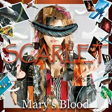 Mary's Blood SCARLET 2nd Mini Album CD F/S