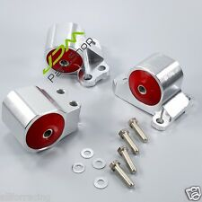 CNC BILLET ENGINE MOTOR MOUNT SET 92-95 CIVIC 94-01 INTEGRA D15 D16 B16 B18