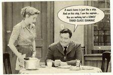 "VINTAGE The Honeymooners ""1955"" TV Sitcom Photo  POSTCARD 630 American"