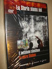DVD N°34 LA STORIA SIAMO NOI IL TESTIMONE SILENZIOSO LA SACRA SINDONE DEAGOSTINI
