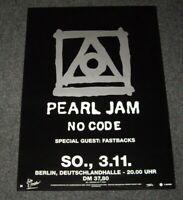 Pearl Jam German Tour Poster No Code Berlin