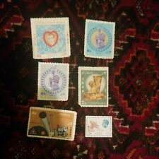 6 Antique Middle Eastern Stamps