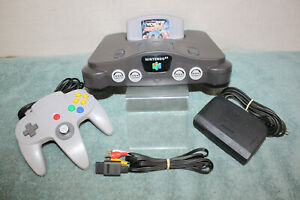 CLEAN N64 Console 1 Game & 1 Controller. COMPLETE (WORKS GREAT)