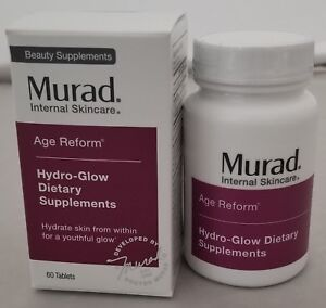 Murad Hydro-Glow Dietary Supplements, 60 tablets, New Sealed Box - EXP: 04/19