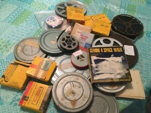 Large Lot of Standard/Super 8mm Movies