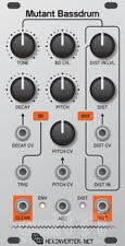 Hexinverter Mutant Bassdrum : Eurorack Module : New : [Detroit Modular]