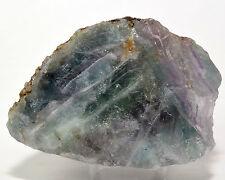 300g Purple Green Blue Fluorite Rough Gemstone Crystal Mineral Specimen  - China