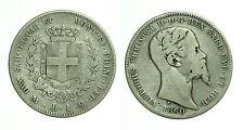 pci0434) Sardegna Vittorio Emanuele II (1849-1861) 1 Lira 1860 MI