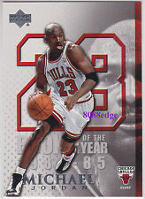 2005-06 UPPER DECK EXCLUSIVE: MICHAEL JORDAN #MJ25 CAREER PLAYOFF HIGH 63 POINTS