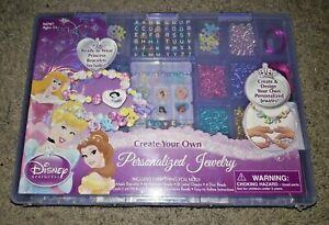 ☃️ Disney Princess Bracelets & Create Your Own Personalized Jewelry Set New NIP