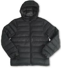 Abercrombie and Fitch Lightweight Hooded Down Black Puffer Jacket £140 - Small