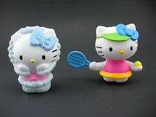 Collection of Two 2 McDonalds HELLO KITTY Happy Meal Toys Winter Tennis